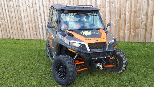 Buggy POLARIS  1 000 General 2 places